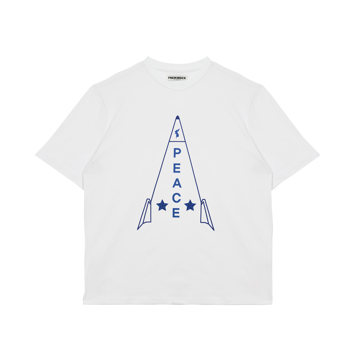 ROCKET T-SHIRT(WHITE)