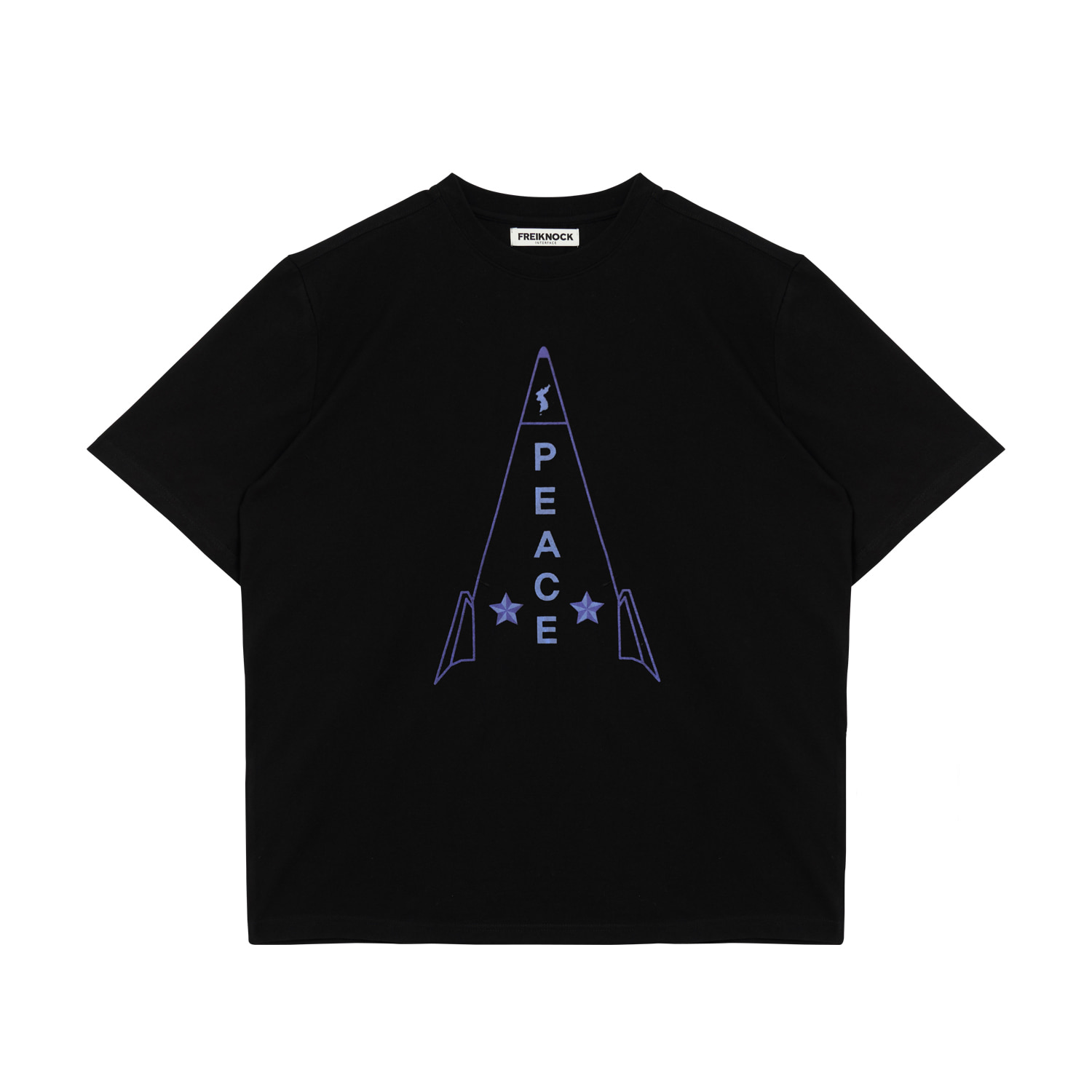 ROCKET T-SHIRT(BLACK)