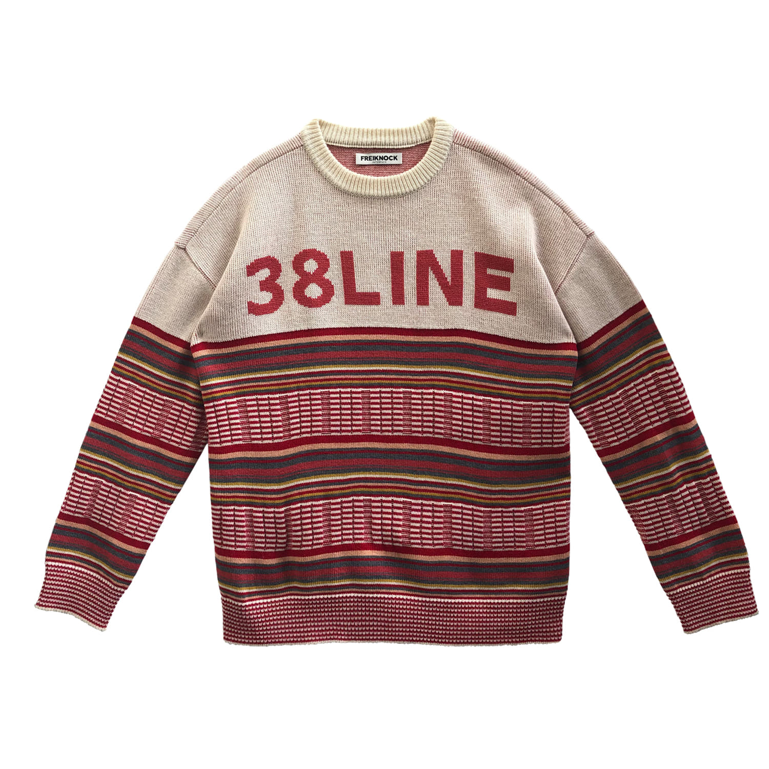 [60% OFF]38 LINE KNIT PULLOVER