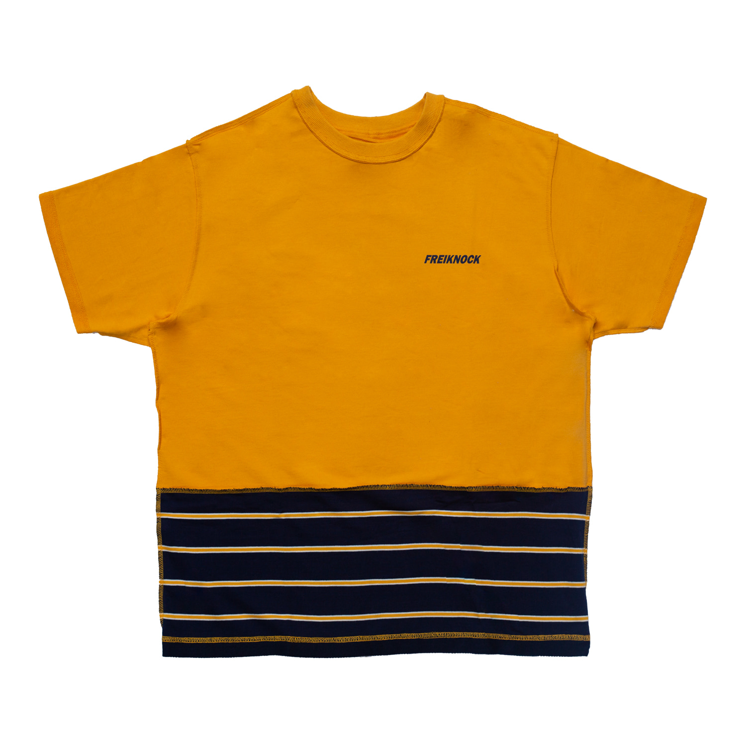 INSIDE-OUT TSHIRT(YELLOW)