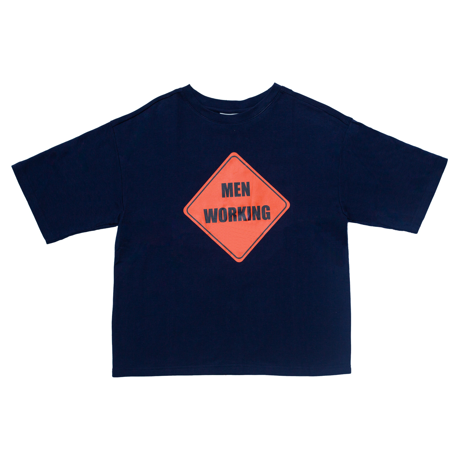 [80% OFF]WORKING T-SHIRT(NAVY)