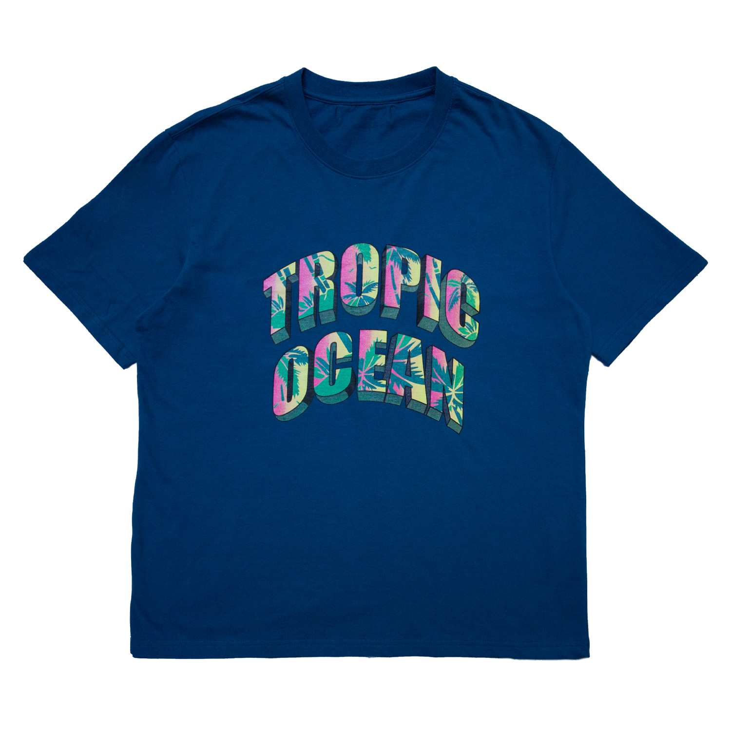 TROPIC OCEAN T-SHIRT(BLUE)