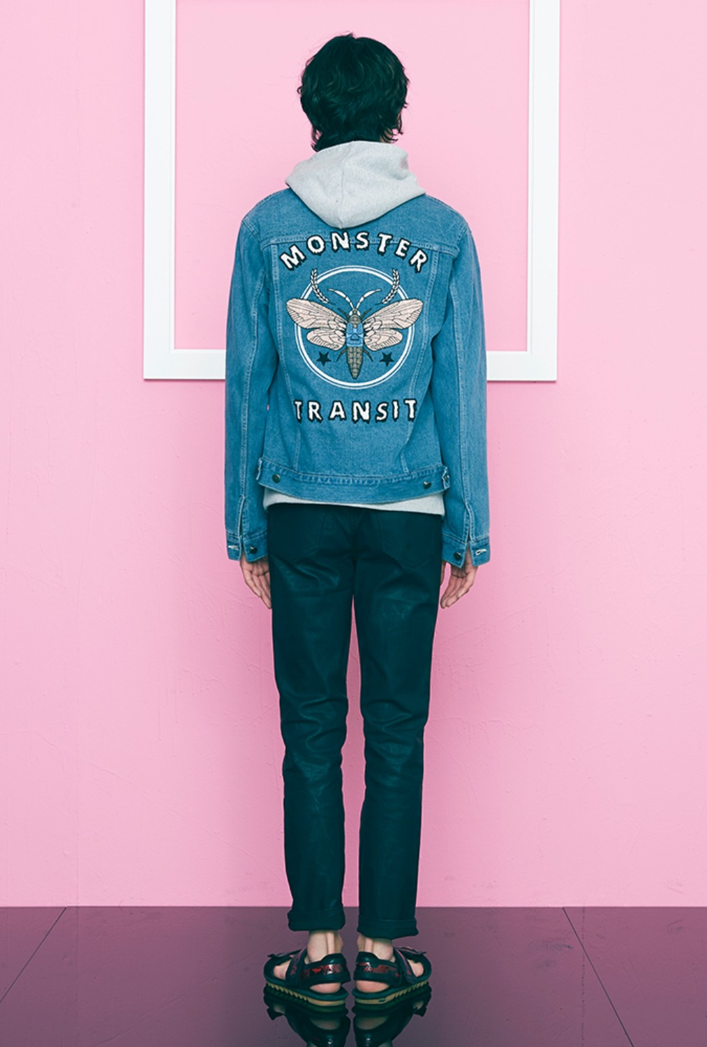 MONSTER DENIM JACKET
